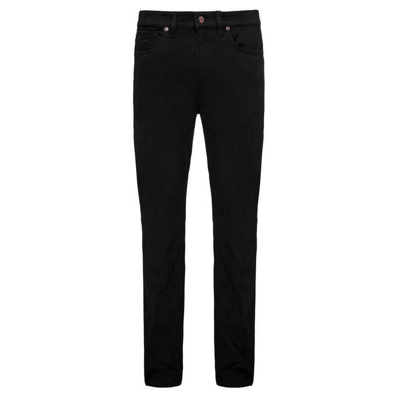 R.M. Williams Ramco Sueded Drill Jeans - Black