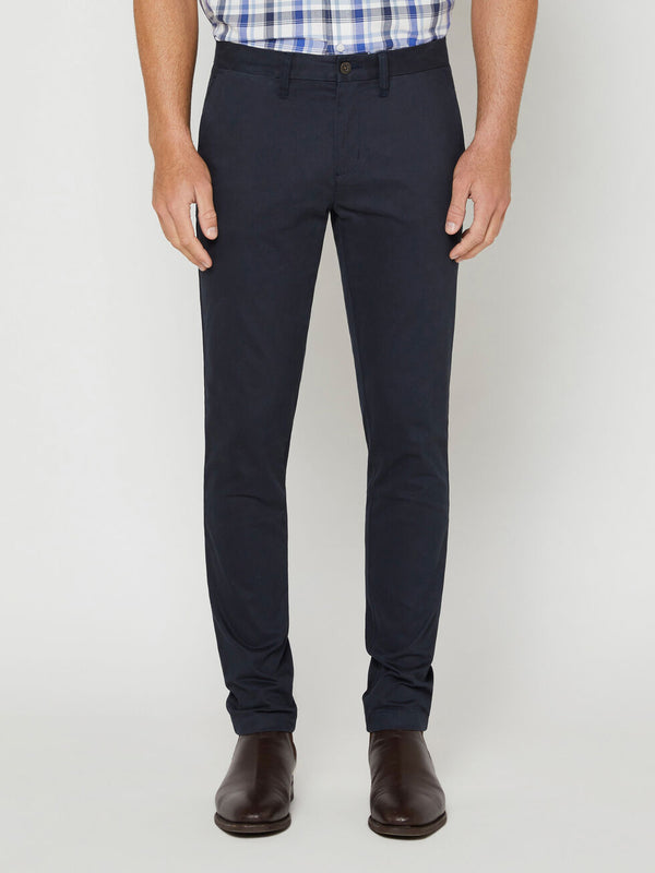 R.M. Williams Lincoln Stretch Twill Chino - Navy
