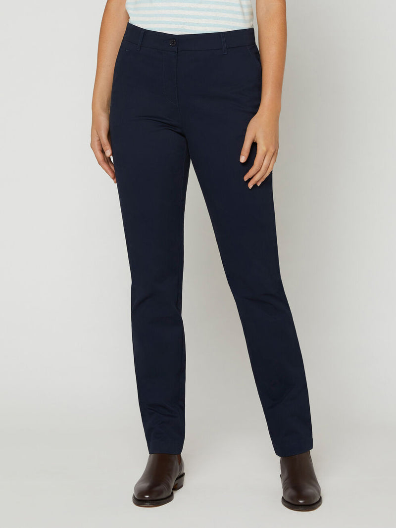 R.M. Williams Womens Ashwell Chino - Dark Navy