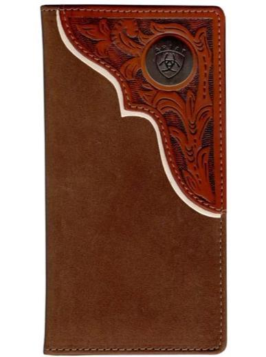 Ariat Rodeo Wallet - Tooled Overlay