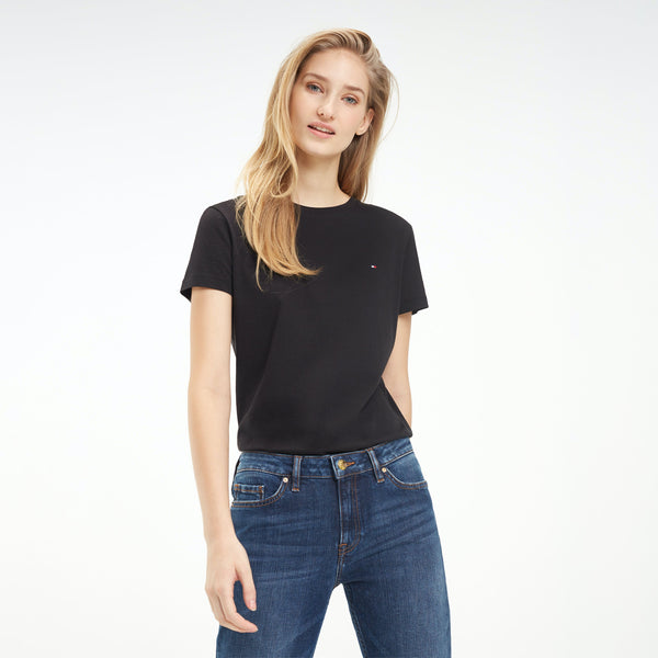 Tommy Hilfiger Womens Heritage Crew Neck Tee - 3 Colours