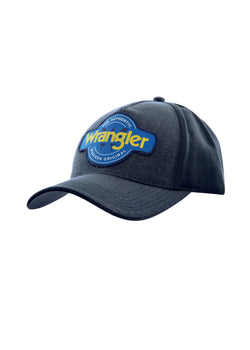 Wrangler Mens Authentic Cap - Grey & Navy Marle