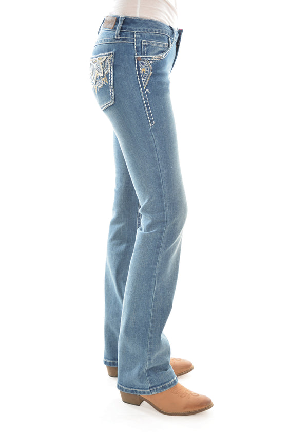 Wrangler Womens Sits Above Hip Jean