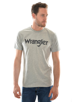 Wrangler Men's Logo Short Sleeve Tee - 2 Colours