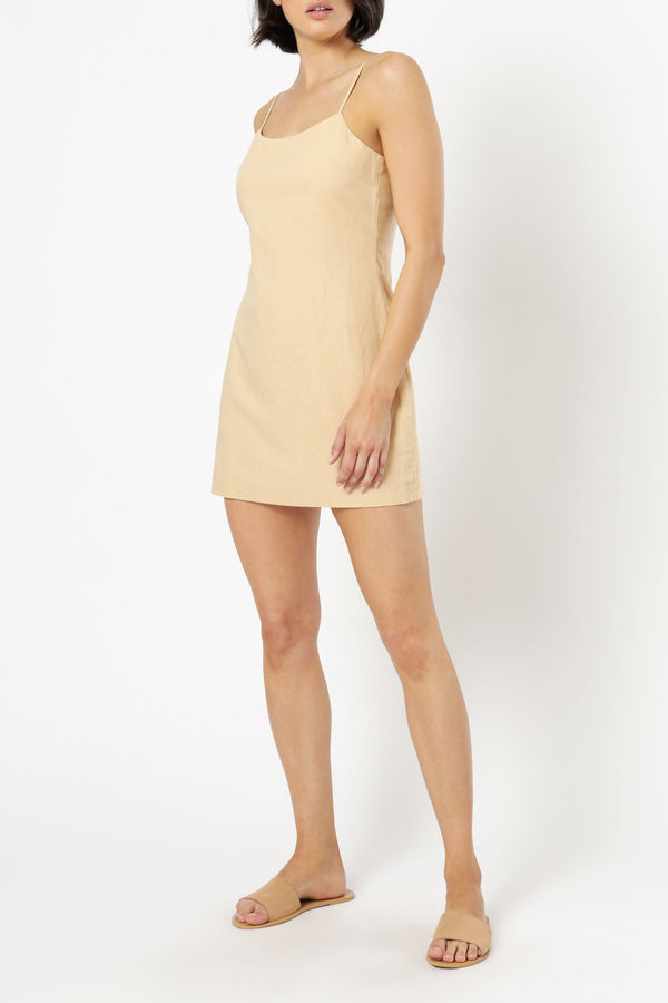Nude Lucy Lisbon Linen Mini Dress -  2 Colours