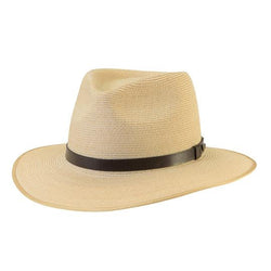 The Akubra Balmoral is a close Weave Hemp Braid Hat with an inside leather and outside the bonded leather band. Make the most of reduced prices on all of our Akubras online, and receive free shipping if you spend over $200.