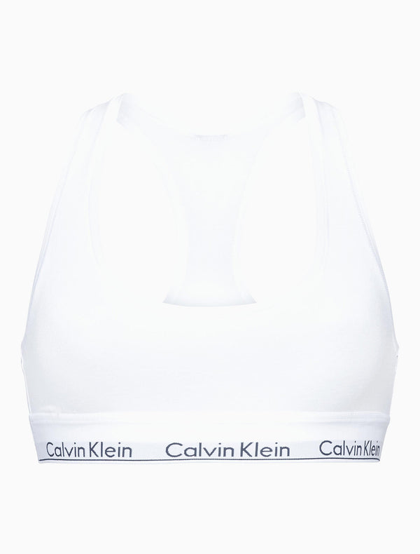 Calvin Klein Womens White Modern Cotton Bralette