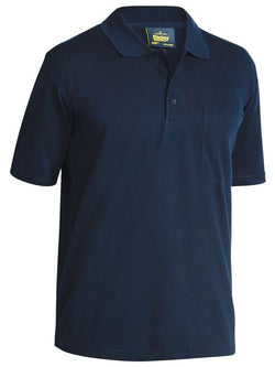 Bisley Poly/Cotton Polo Navy