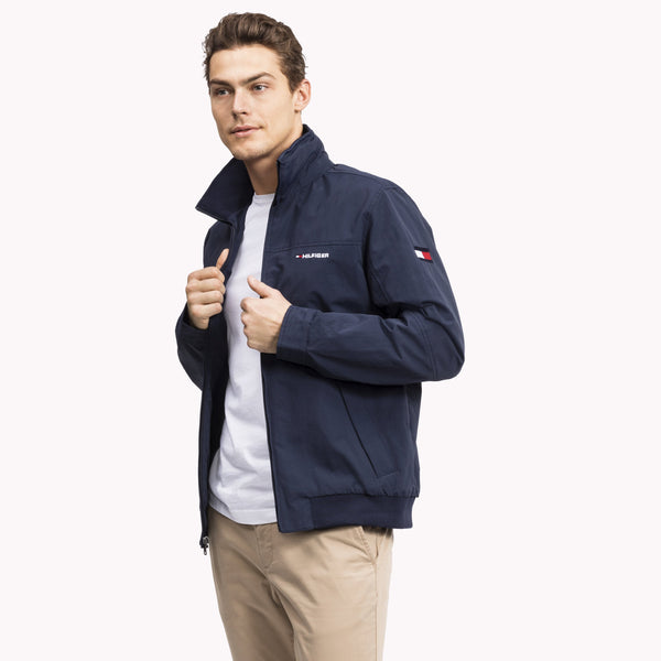 Tommy Hilfiger Mens Yacht Sailing Jacket