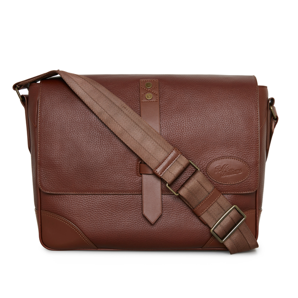 R.M. Williams Signature Messenger Bag - Whiskey