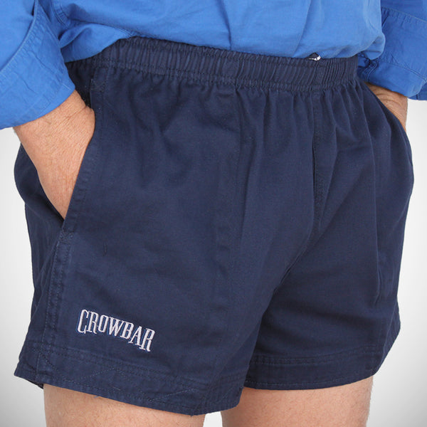 Crowbar Harmsy Mens Drill Shorts