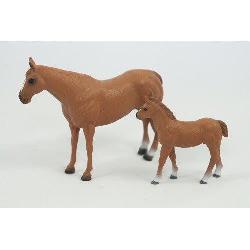 Big Country Toys Quarter Horse Mare & Colt