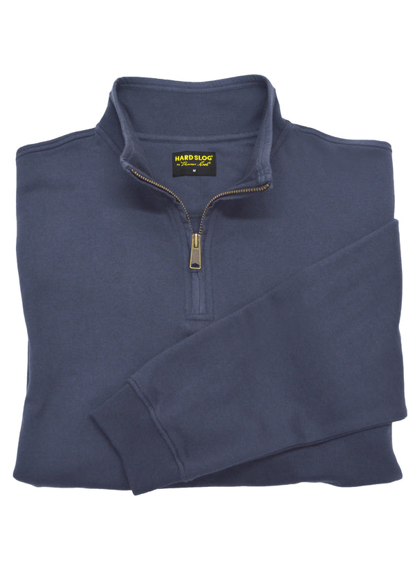 Hard Slog Mens 1/4 Zip Fleece - 4 Colours