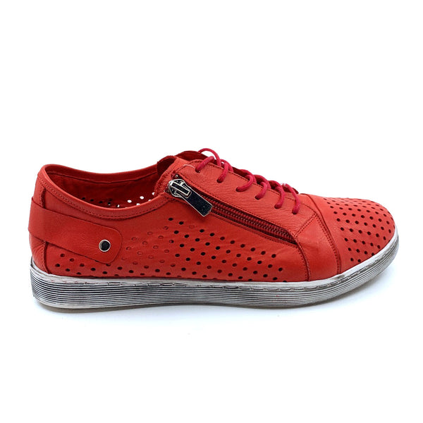 Cabello Womens EG17 Shoe - Red