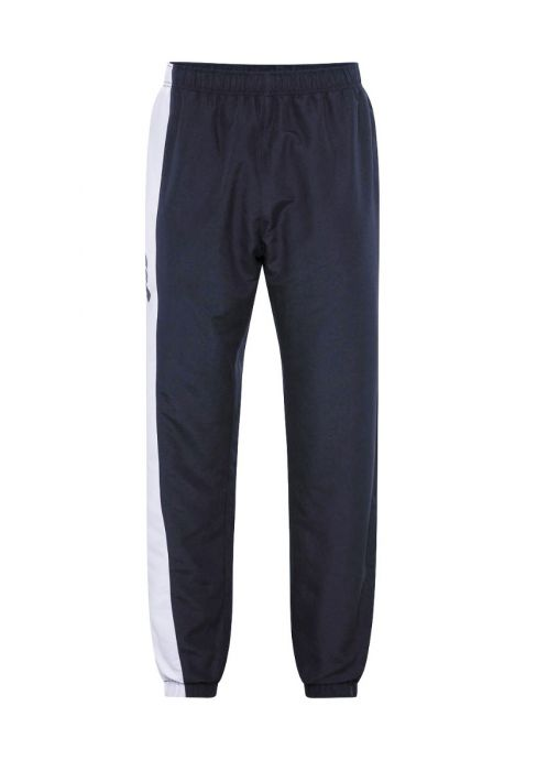 Canterbury Kids Taper Leg Stripe Cuffed Trackpant - Black & Navy