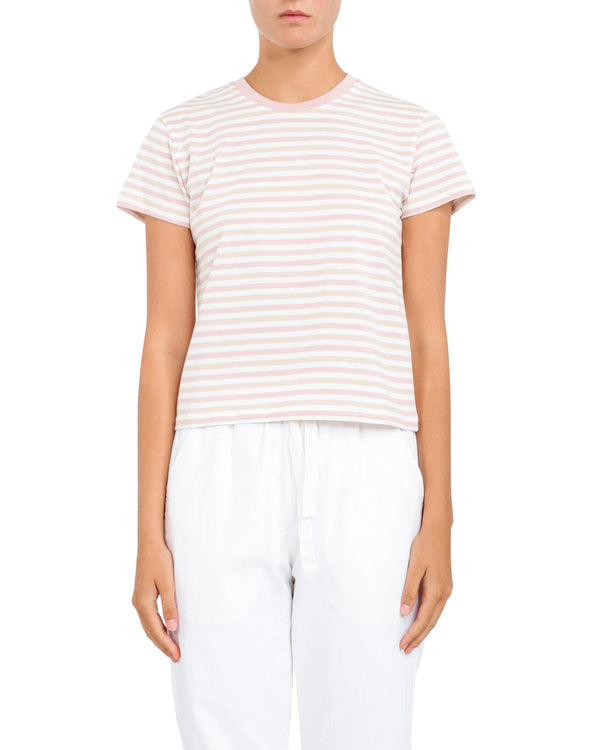 Nude Lucy Taylor Ringer Tee