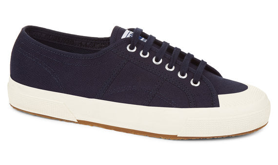 Superga Mens 2390-COTU - Beige and Navy
