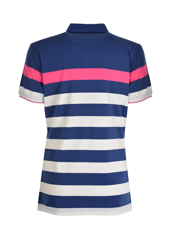 Thomas Cook Womens Gemma Stripe Short Sleeve Polo
