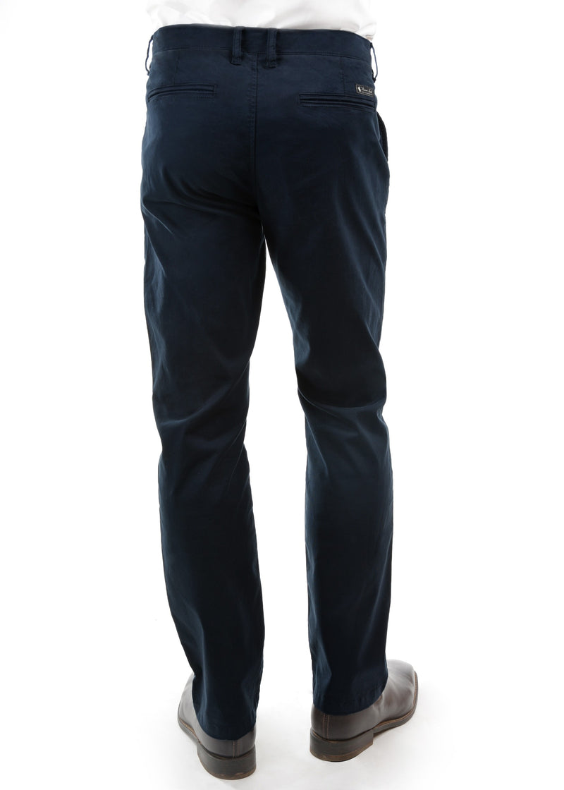 Thomas Cook Men's Tailored Fit Mossman Comfort Waist Trousers 32 Leg - 2 Colours