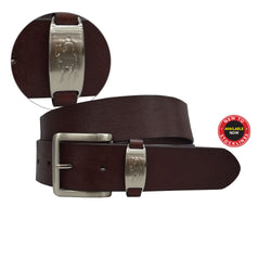 Thomas Cook Mens Horseman Badge Belt