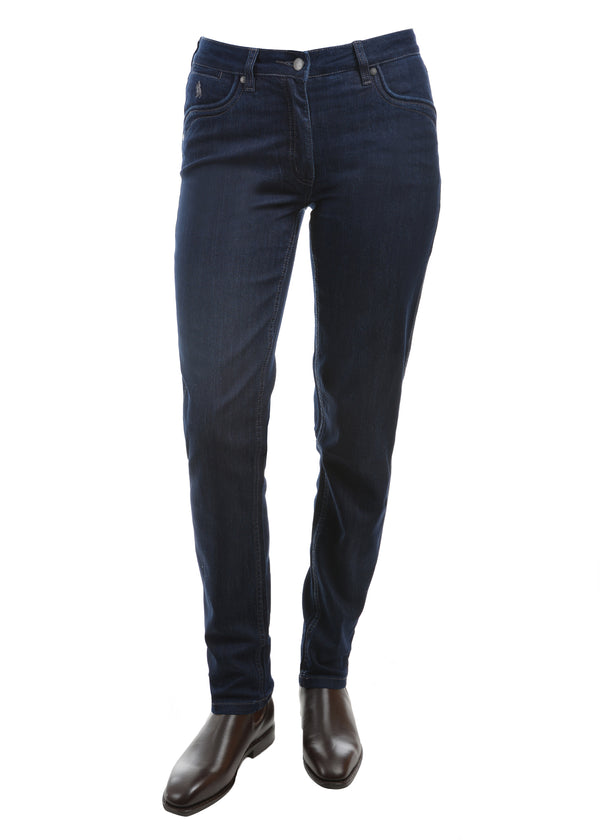 Thomas Cook Womens Lynda Slim Leg Wonder Jean Mid-Reg-Slim