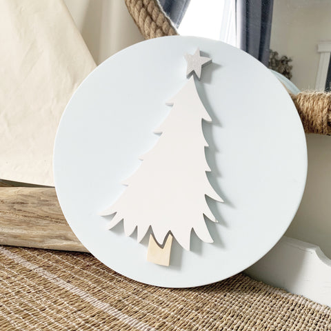 "12"" Whimsy Tree Round - as is"