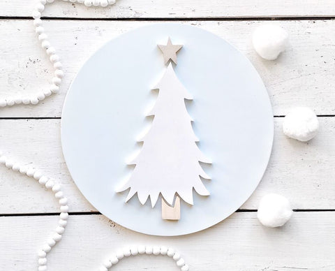 "12"" Whimsy Tree Round"