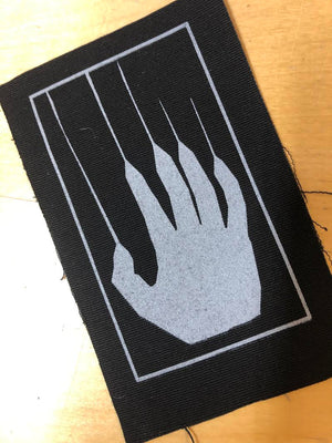 PATCH LOGO HAND SILVER