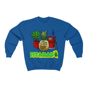 Fiyaman pineapple Lv green Unisex Heavy Blend™ Crewneck Sweatshirt