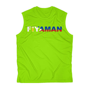 059 Fiyaman phillipeans Sleeveless Performance Tee