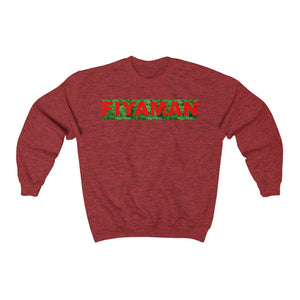 024 Unisex Fiyaman red logo  Heavy Blend™ Crewneck Sweatshirt