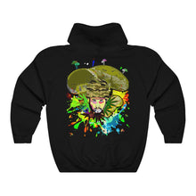 Load image into Gallery viewer, Sherlock Psychedelic summer Camo  Unisex Heavy Blend™ Hooded Sweatshirt