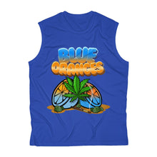 Load image into Gallery viewer, 057 Blue Oranges Sleeveless Performance Tee