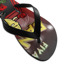 Load image into Gallery viewer, Unisex Flip-Flops Banana Punch