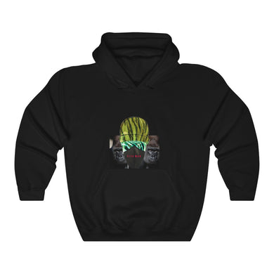 Wild Animal Mask Unisex Heavy Blend™ Hooded Sweatshirt
