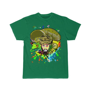 Green Summerdelic Short Sleeve Tee