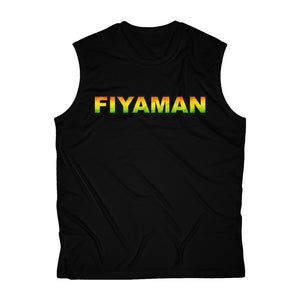 052 Fiyaman rasta unisex Sleeveless Performance Tee