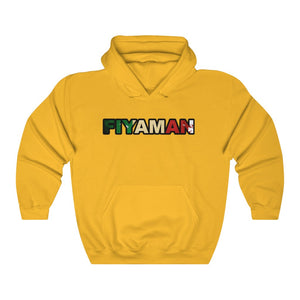043 Unisex Fiyaman Italee Heavy Blend™ Hooded Sweatshirt