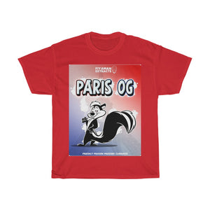 Paris Og Heavy Cotton Tee