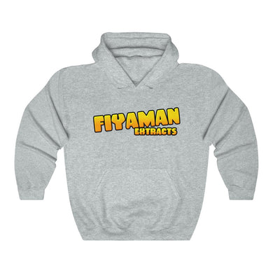 022 Unisex Fiyaman logo gold Heavy Blend™ Hooded Sweatshirt