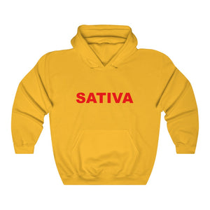 0010 Unisex Sativa Heavy Blend™ Hooded Sweatshirt