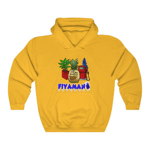 Express Pineapple Unisex Heavy Blend™ Hooded Sweatshirt