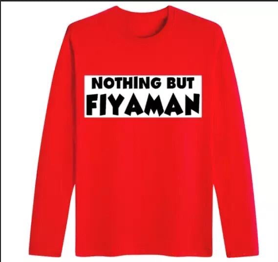 Long Sleeve Fiyaman Shirt- Unisex