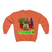 Load image into Gallery viewer, Fiyaman pineapple Lv green Unisex Heavy Blend™ Crewneck Sweatshirt