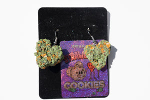 Strawberry Cookies Bud Earrings
