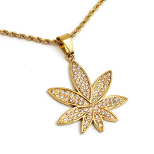 "Load image into Gallery viewer, ""Dr. Greenthumb"" Necklace"
