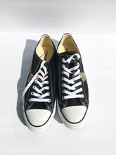Load image into Gallery viewer, Fiyaman Converse Chuck Taylor All Star Low Tops in Black