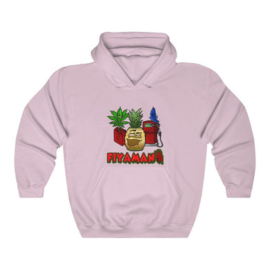 Express pineapple pink Unisex Heavy Blend™ Hooded Sweatshirt