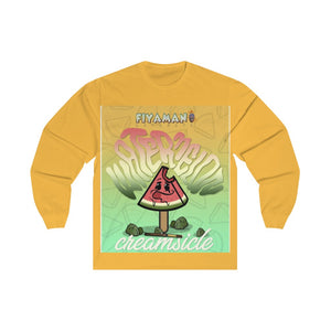 Watermelon Creamsicle Long Sleeve Tee