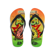 Load image into Gallery viewer, Unisex Flip-Flops Citrus Punch